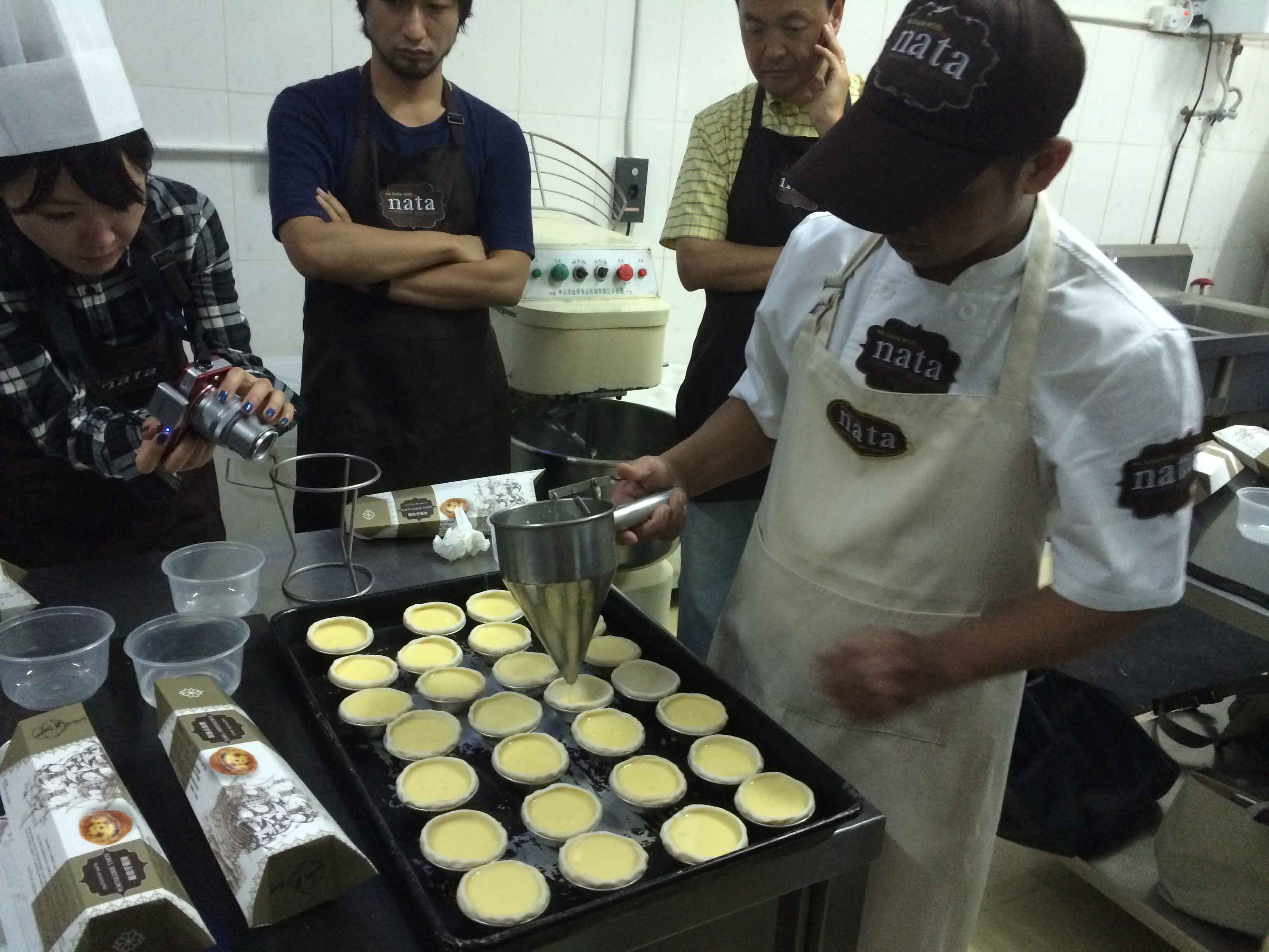 Macanese Eggtart Cooking Class Team Bonding