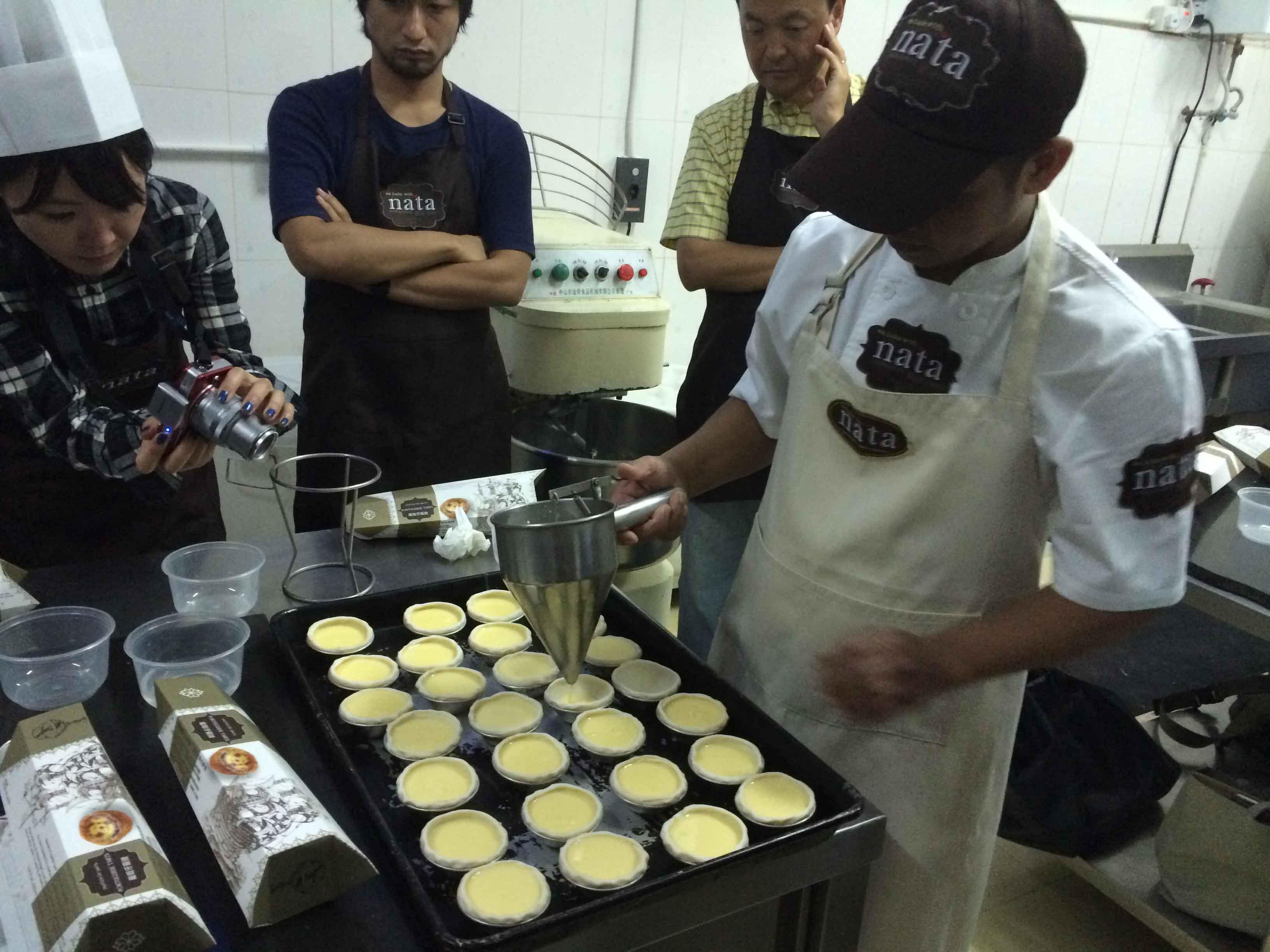 Macanese Eggtart Cooking Class Team Bonding
