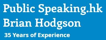 Public Speaking Hong Kong