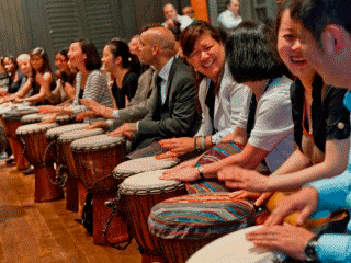 Drum Games in Macau