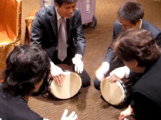 Drum Games in Macau Team Builder