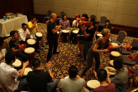 Drumming Team Challenge