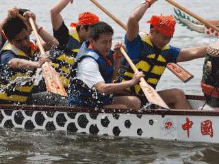 Team Building Dragon Boat Race