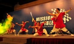 Shaolin martial art entertainment