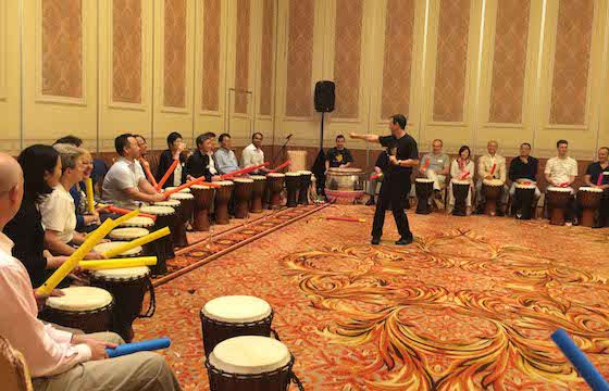 Drumming Ice Breaker