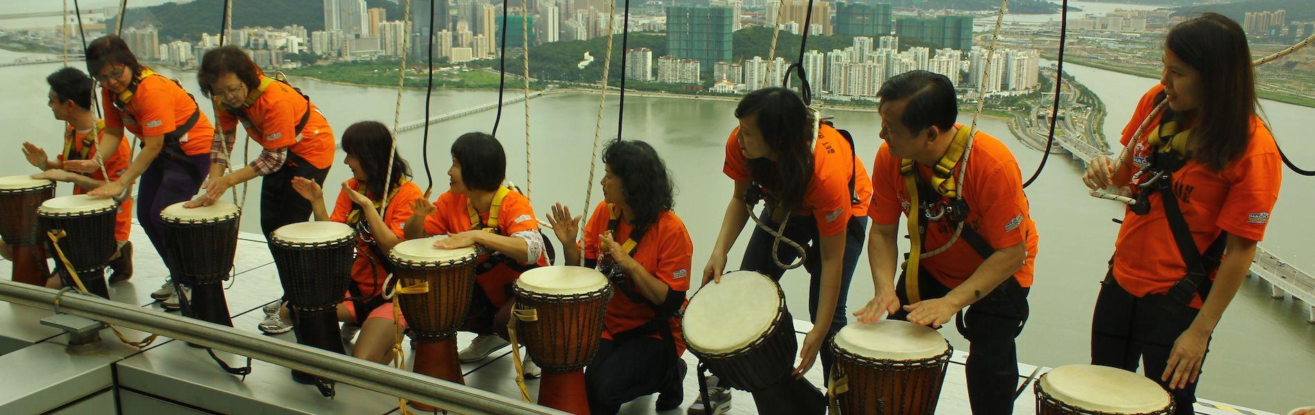Sky Drumming