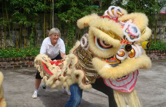 Lion Dance in Macau