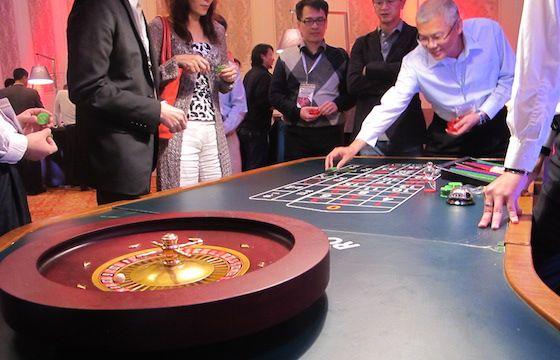 Casino themed event in Macau