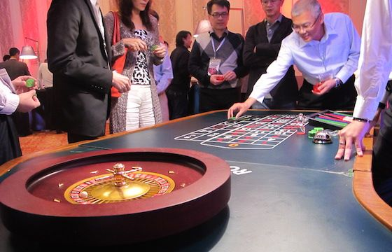 Casino themed event in Macau