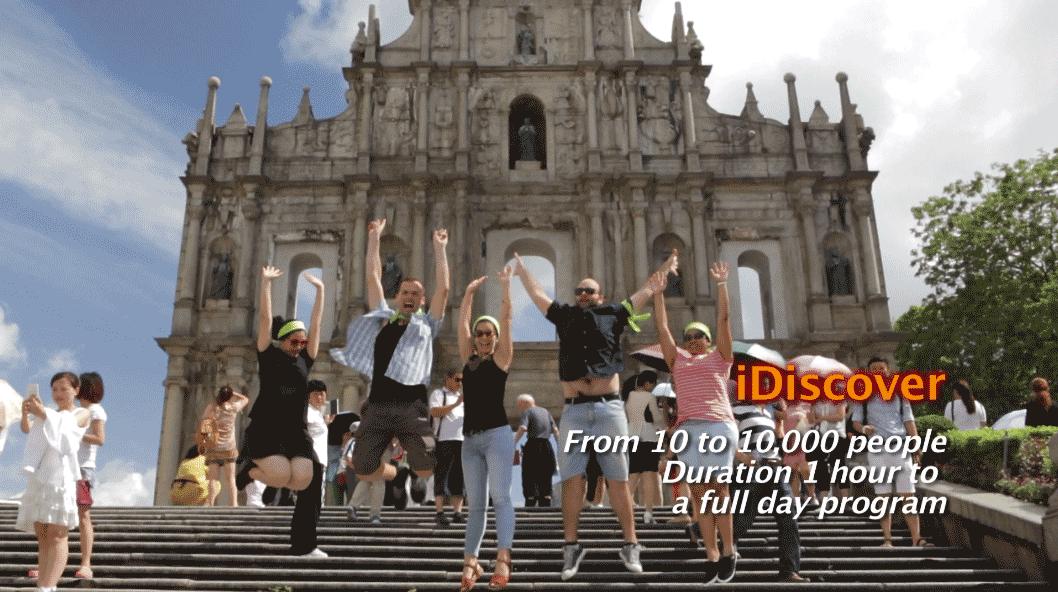 idiscover Macau team building