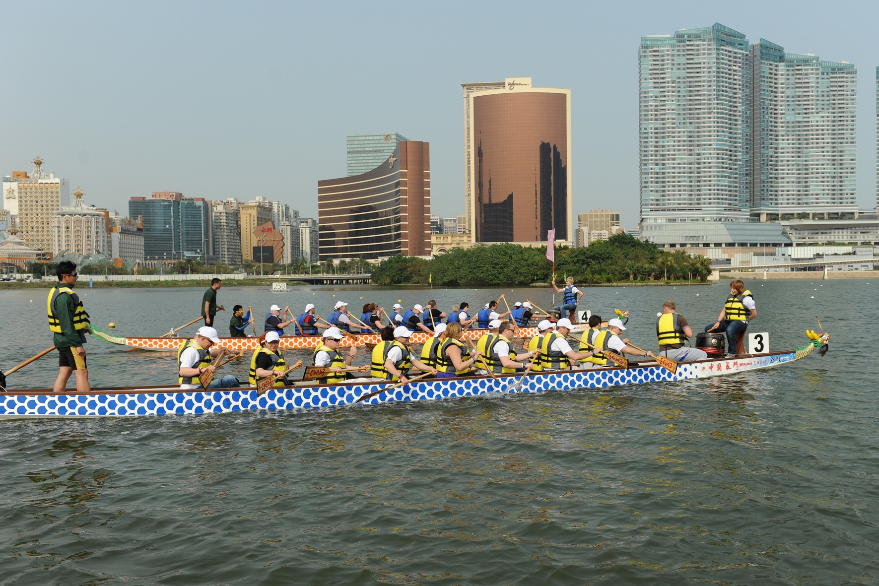 Dragon Boat; Macau; Team Building (2)