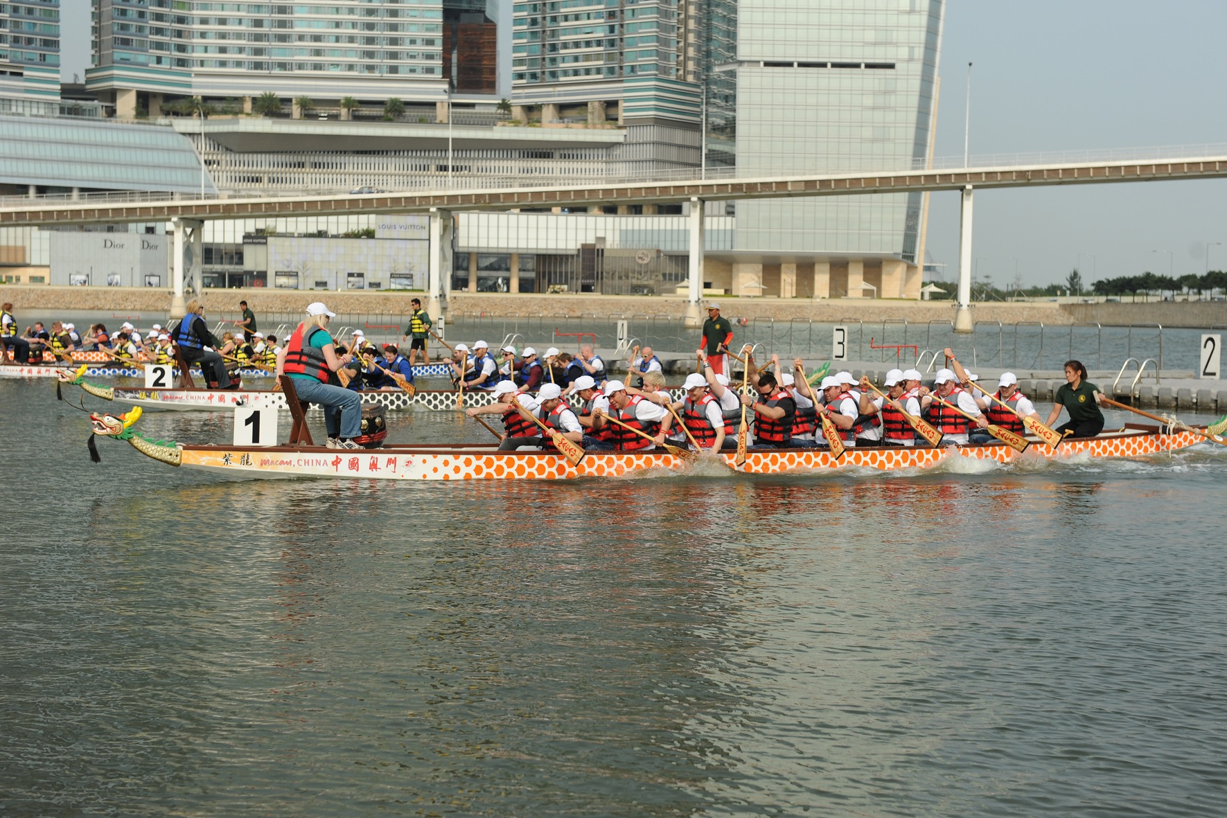 Dragon Boat; Macau; Team Building (3)