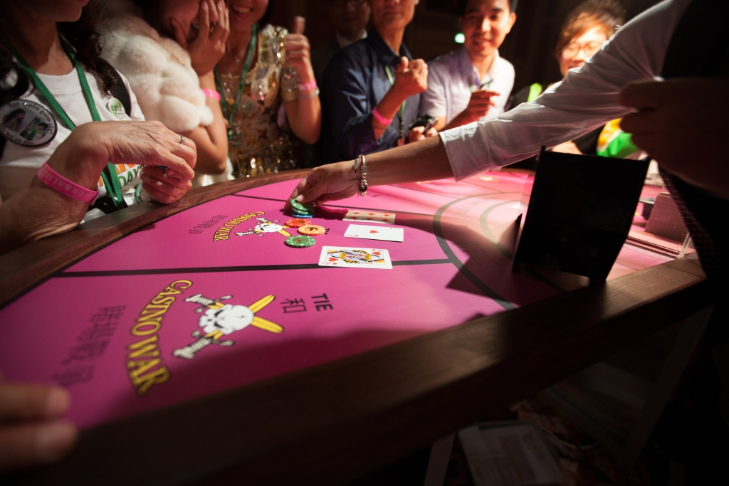 casino party; themed events; fun casino; casino night