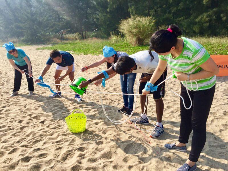 outdoor team building games macau
